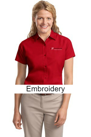 17b62dce Port Authority® Ladies Short Sleeve Easy Care Shirt. L508 – MathApparel