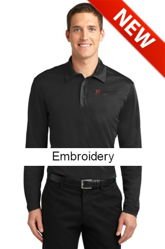 1ca3ec8c Port Authority® Silk Touch™ Performance Long Sleeve Polo. K540LS ...
